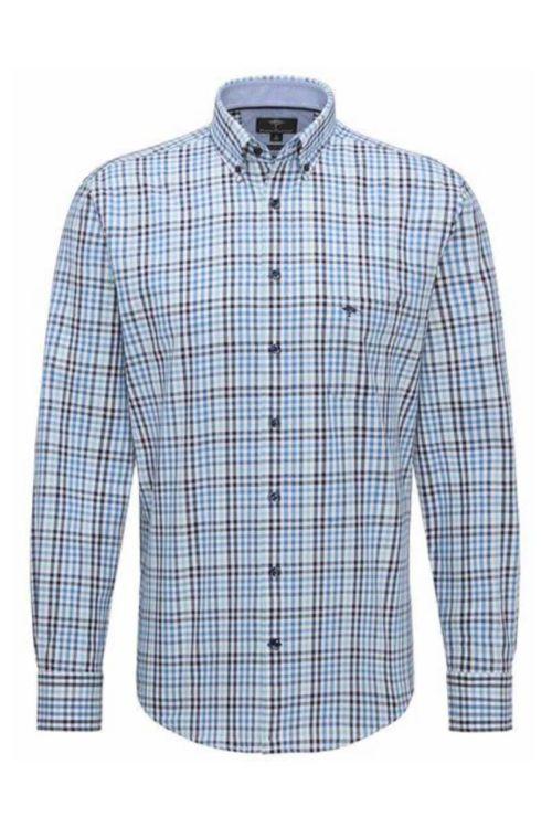 Muška košulja kariranog uzorka u dvije boje - Fynch Hatton