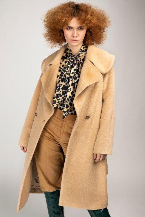 Ženski zimski kaput u dvije boje