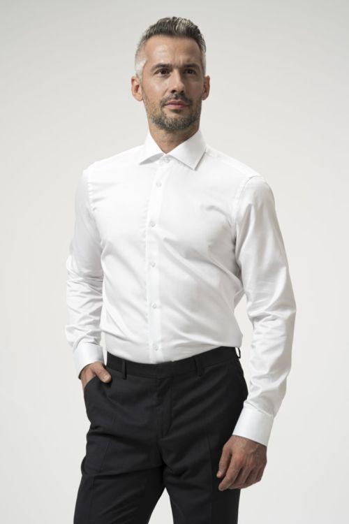 Košulja s produženim rukavima - Fine Twill 100's