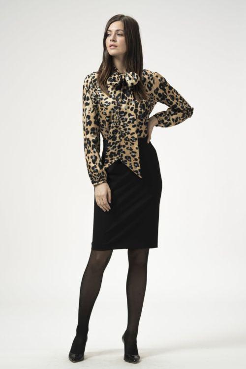 Pencil suknja crne boje