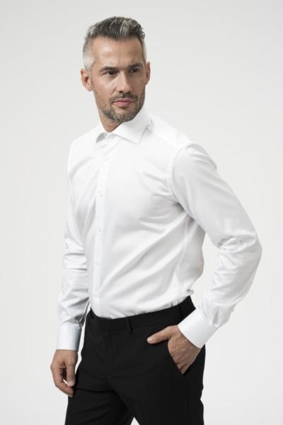 Pamučna muška košulja bijela