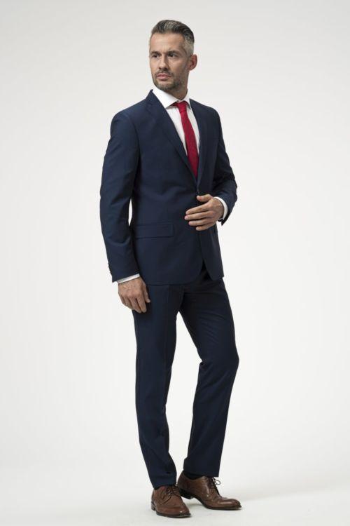 Muške hlače plave boje 100's - Slim fit