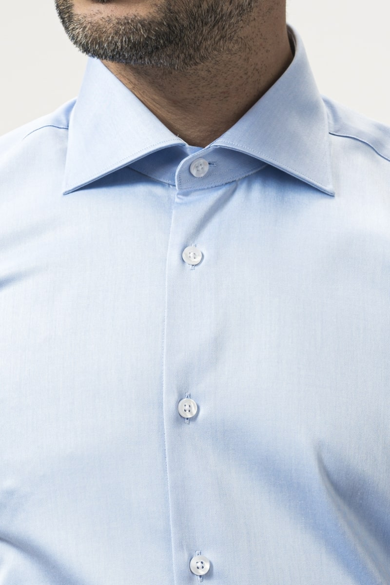 Pamučna muška košulja plava