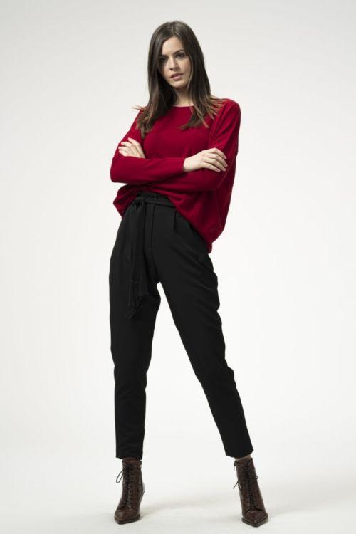 Ženske 'Paper bag' hlače u dvije boje