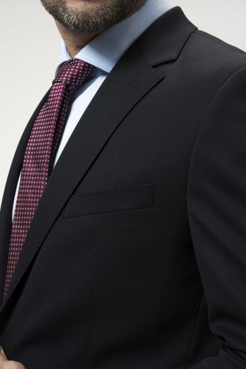 Tamno plavo odijelo od runske vune