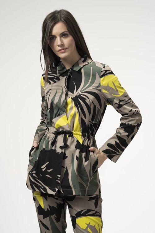 Ženska jakna egzotičnog uzorka