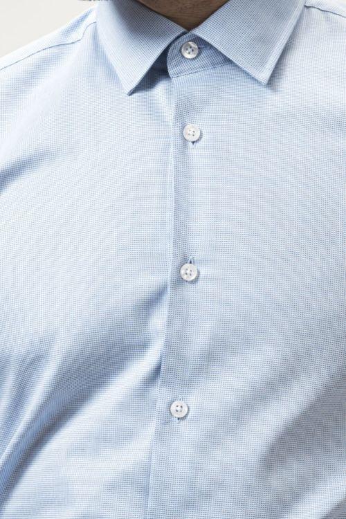 Muška košulja dugih rukava plave boje
