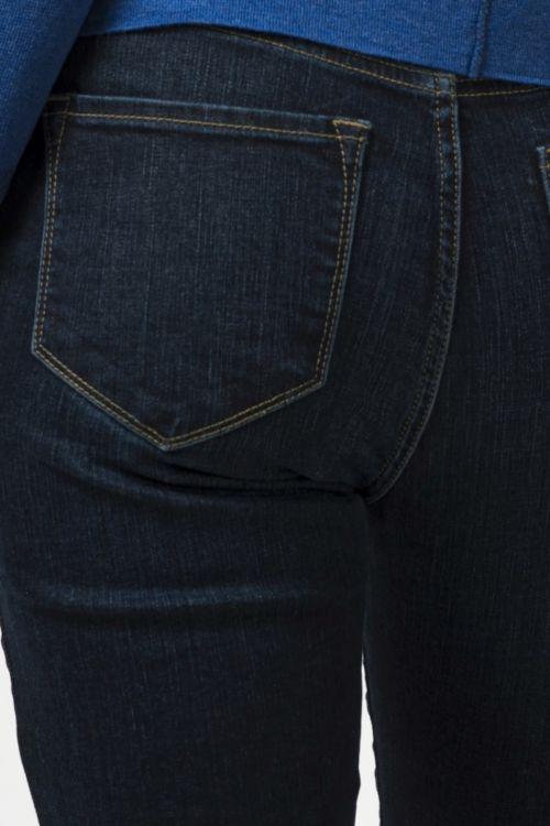 Ženske plave jeans hlače straight leg