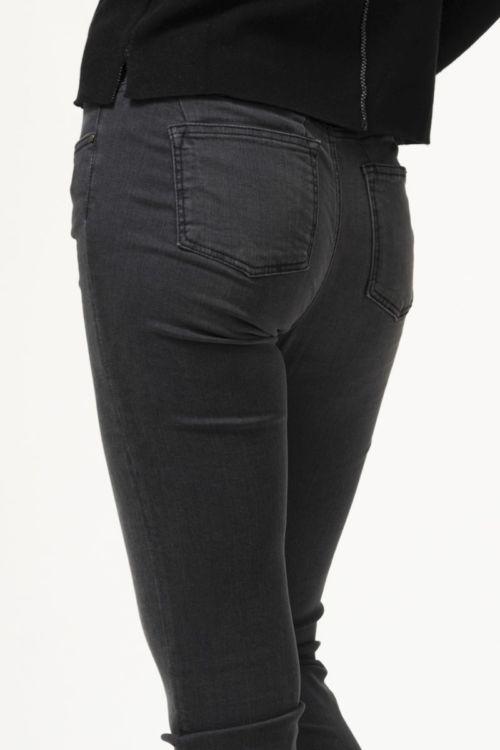 Ženske traper push-up hlače sive boje