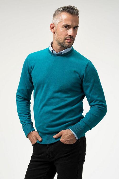 Muški pulover s okruglim izrezom u 6 boja