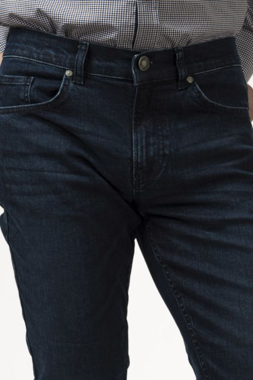 Muške tamno plave traper hlače - Slim fit