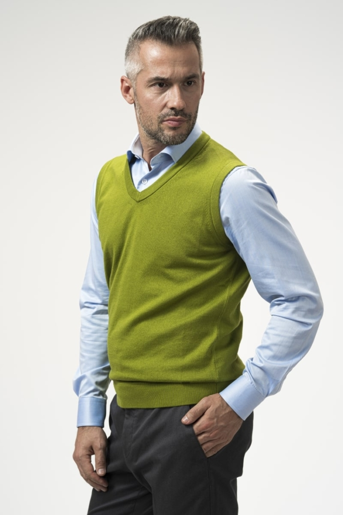 Varteks Men's cotton vest in 4 colors
