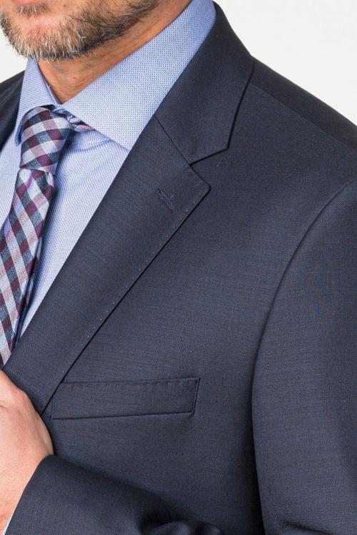 Muško tamno plavo odijelo od runske vune – Regular fit
