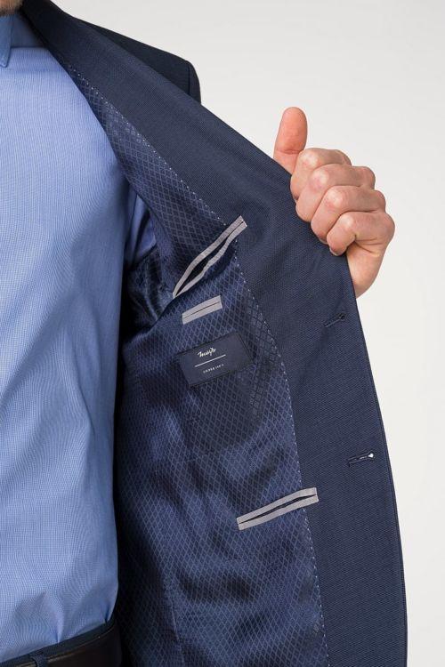 Plavo odijelo od runske vune 100's - Regular fit