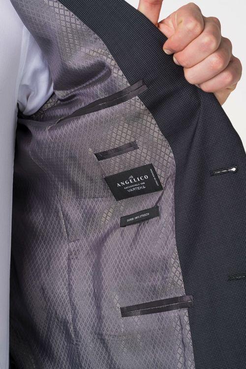 Muško antracit sivo odijelo Super 100's – Regular fit