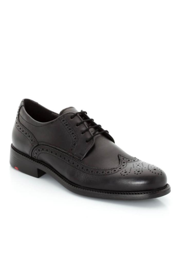 Crne kožne Derby cipele - Lloyd