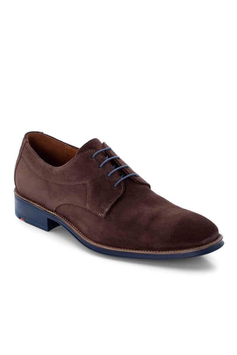 Muške smeđe cipele od antilop kože - Lloyd