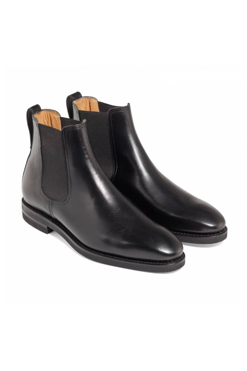 Crne visoke Chelsea cipele - Berwick