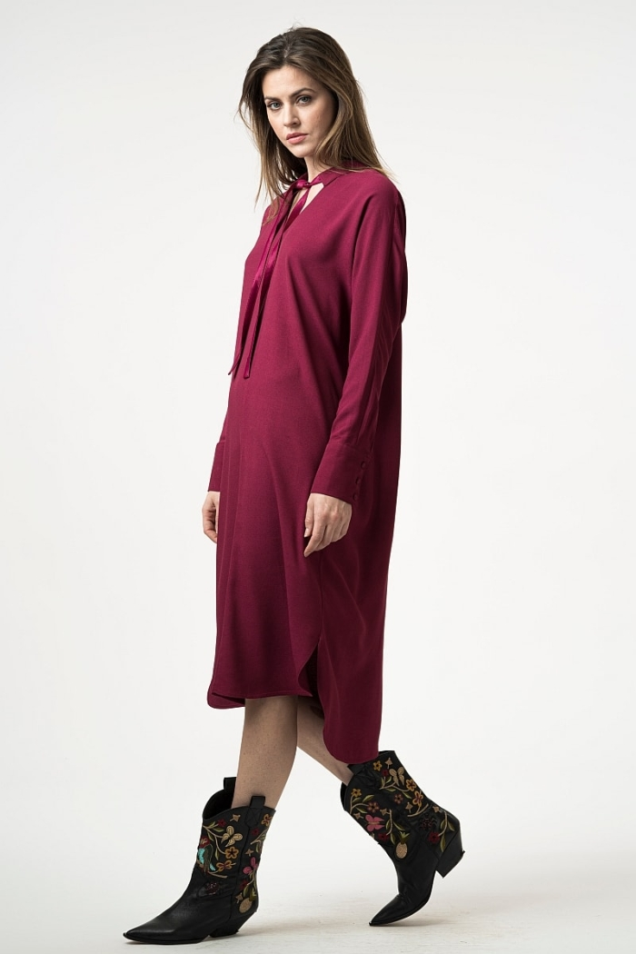 Varaždin Casual straight dress in two colors