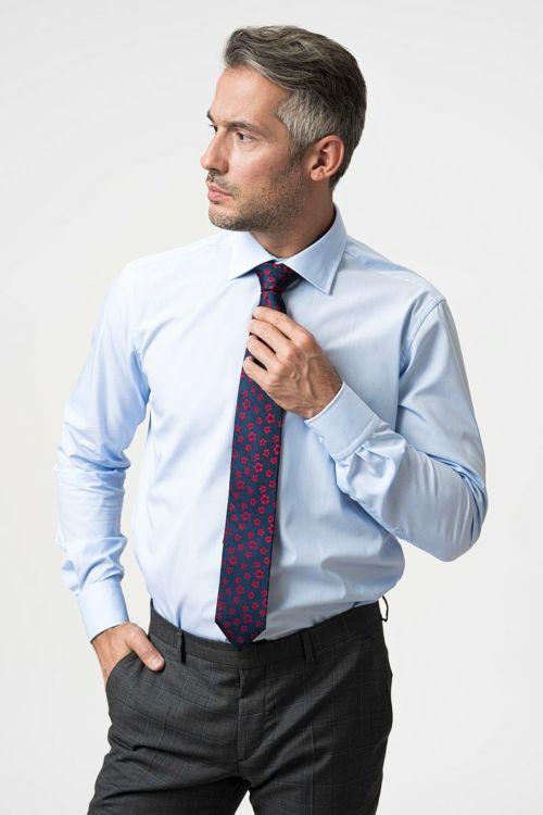 NON IRON svjetlo plava košulja - Regular fit
