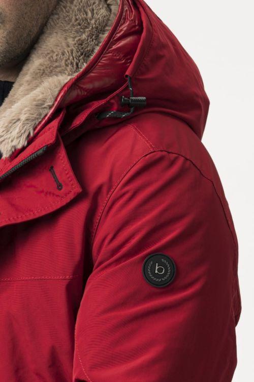 Muška jakna crvene boje - bugatti
