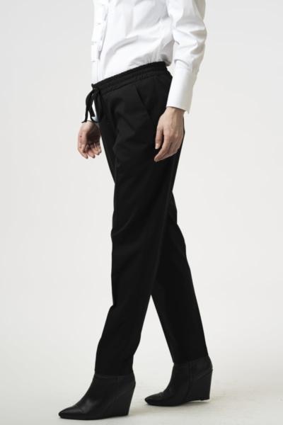 Ženske ležerne hlače na vezanje u struku