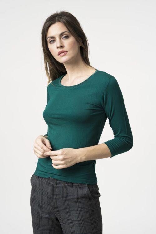 Ženska bazna majica 3/4 rukava u pet boja