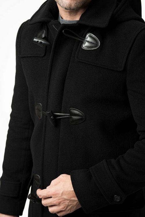 Crni muški Montgomery kaput