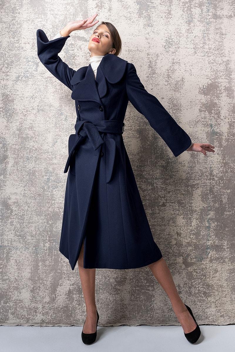 Limited Edition - Ženski kaput od runske vune i kašmira