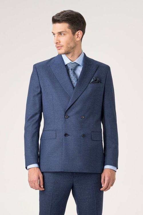 Muški sako od odijela s duplim kopčanjem u tri boje