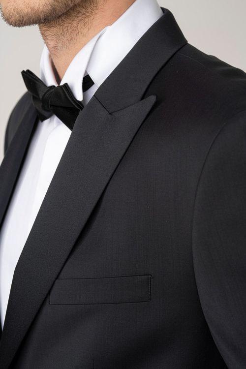 Muški sako od smoking odijela crne boje