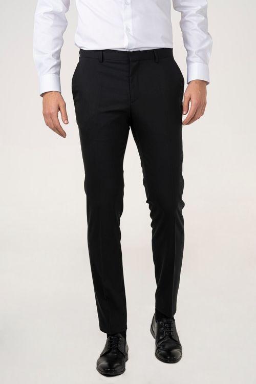 Crne hlače od odijela - Slim fit