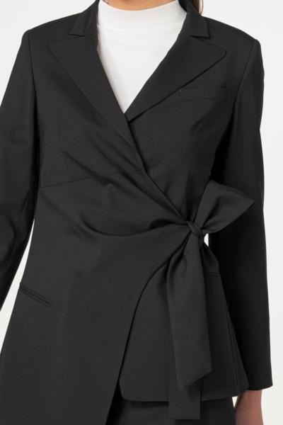 Elegantni ženski sako na vezanje