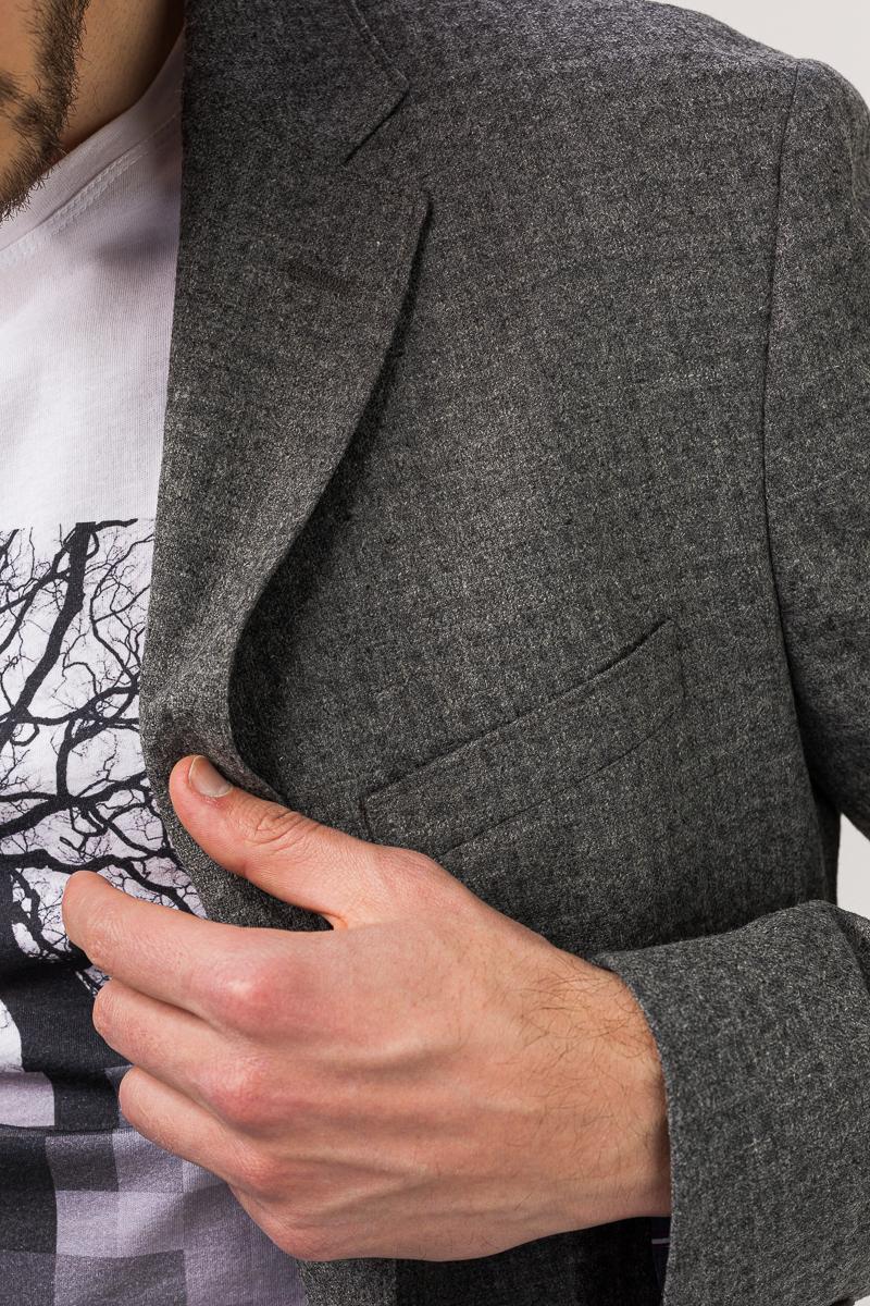 Muški sivi sako decentno karirane strukture