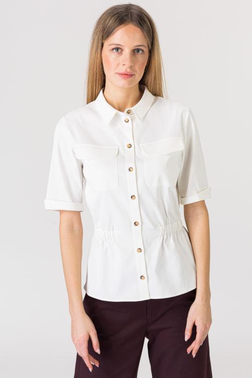 Bijela košulja kratkih rukava