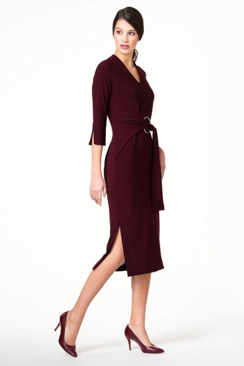 Midi haljina u dvije boje