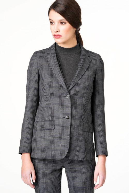 Karirani ženski sako od odijela