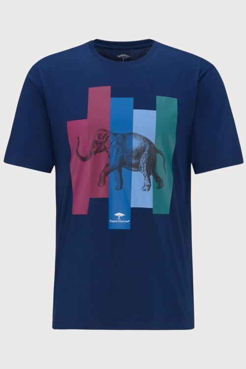 Tamno plava majica s motivom slona - Fynch Hatton