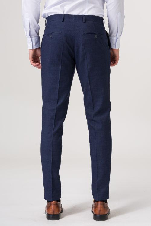 Tamno plave hlače od odijela - Slim fit