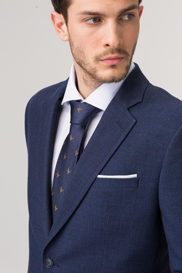 Varteks Dark blue suit blazer - Slim fit