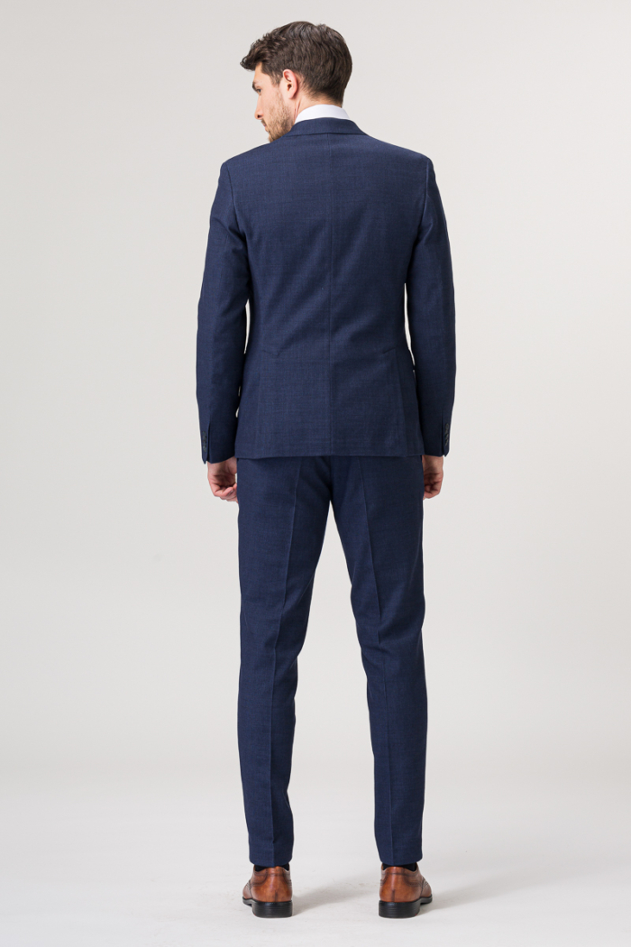 Varteks Dark blue suit trousers - Slim fit
