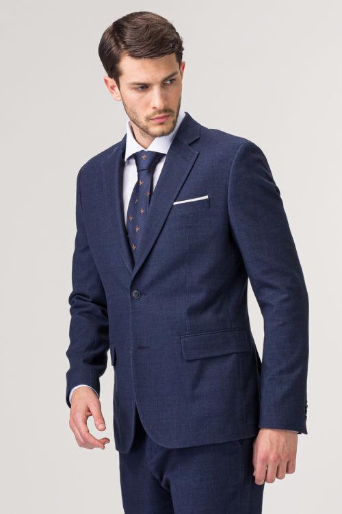 Tamno plavi sako od odijela - Slim fit
