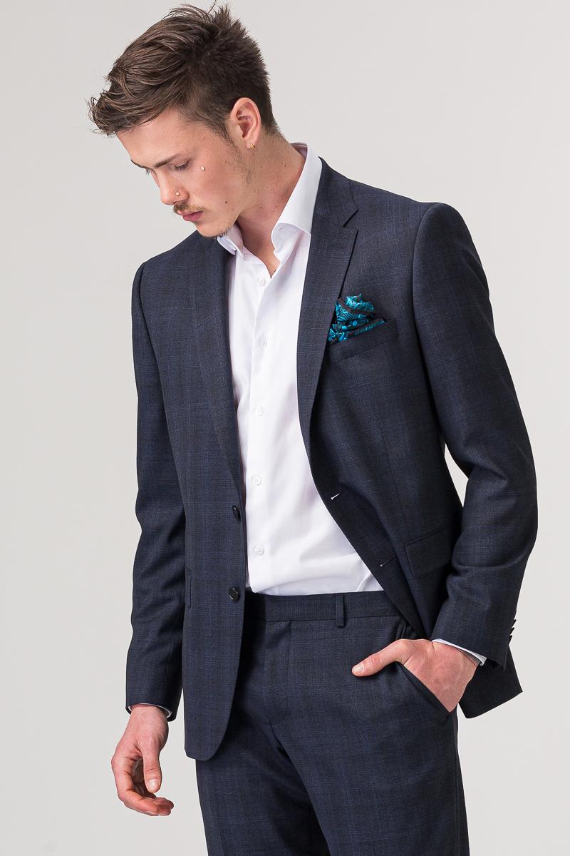 YOUNG muško tamno plavo odijelo - Regular fit