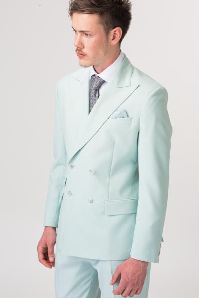 YOUNG Muški sako boje pistacije - Slim fit