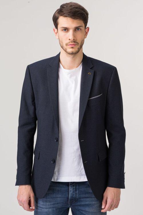 Muški sako s ukrasnim pinom