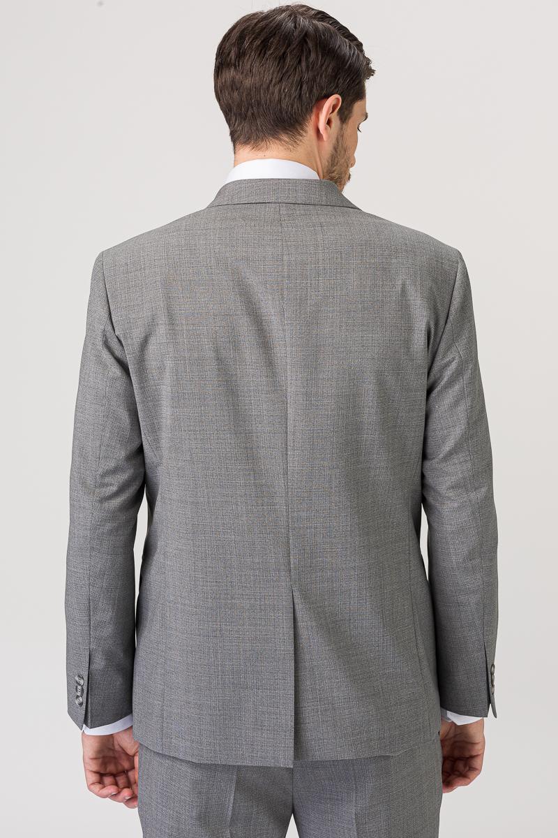 Elegantan sivi sako od runske vune- Regular fit