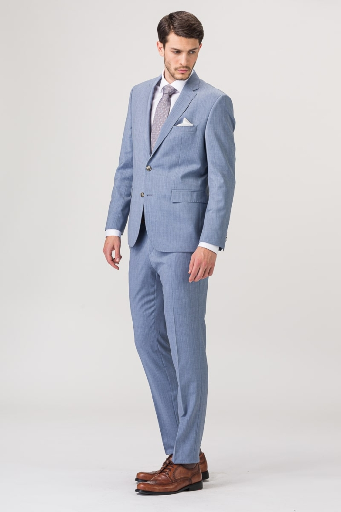 Limited Edition - Muško odijelo svijetlo plave boje