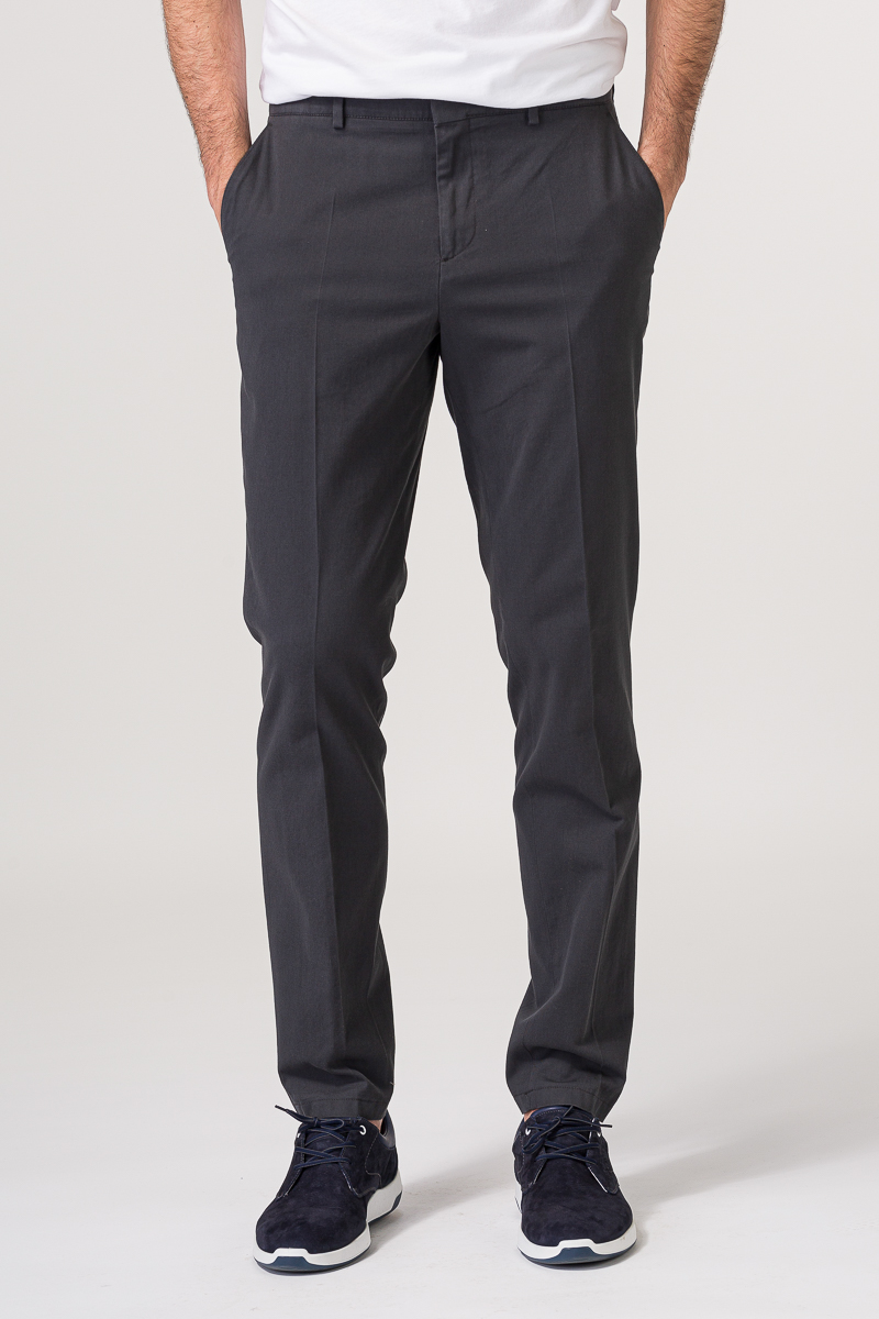 Sive pamučne chino hlače