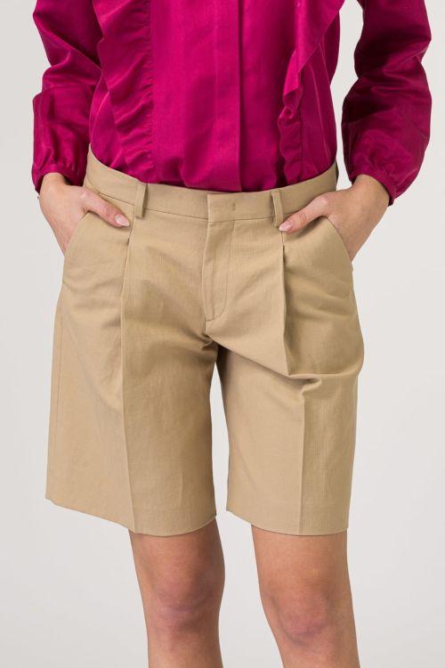 Ženske kratke hlače boje pijeska