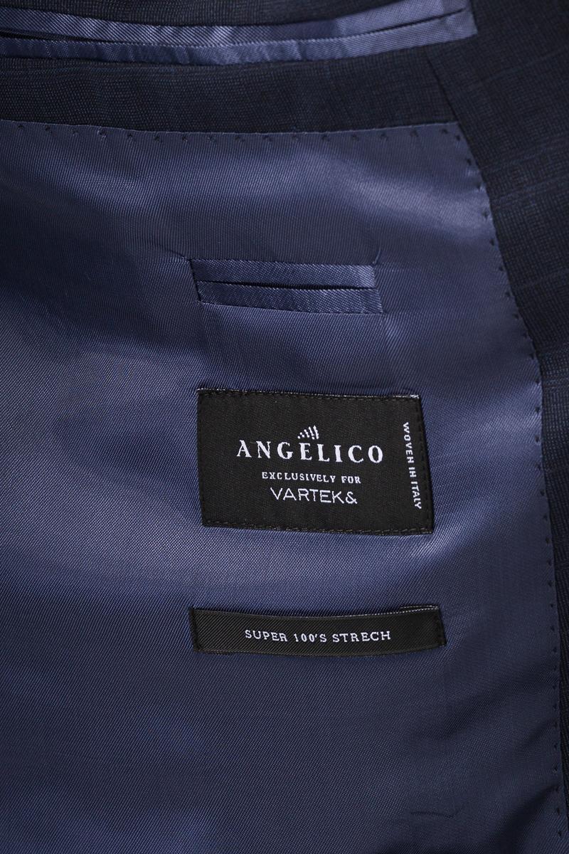 Muško odijelo s decentnim uzorkom - Regular fit